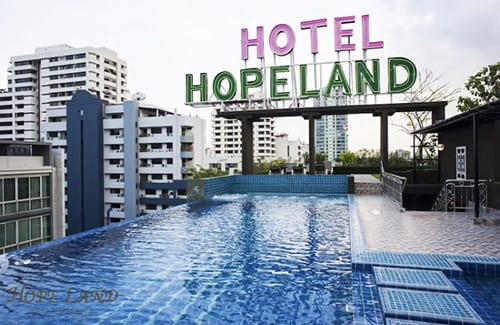 Hope land hotel 素坤逸8號巷希望大地公寓飯店