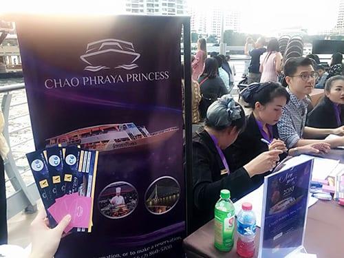 昭披耶河公主號 Chaophraya princess cruise