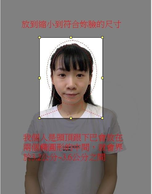 自製泰國簽證照片