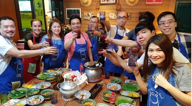 Sompong泰式料理烹飪課