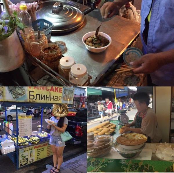 曼谷街頭小吃
