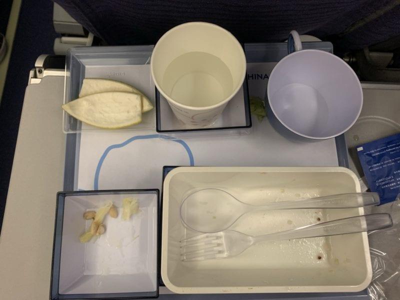 華航飛機餐分享