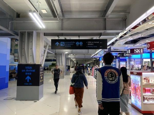 曼谷BKK機場落地簽證