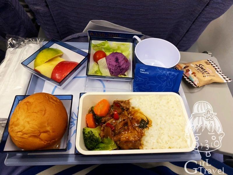 中華航空曼谷飛機餐