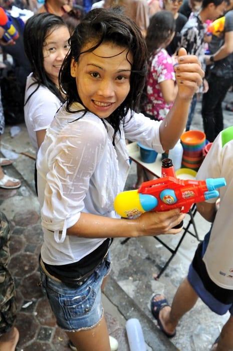 泰國潑水節注意事項