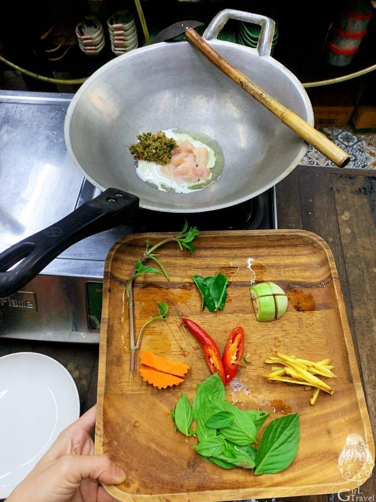 Silom泰餐學校烹飪課程