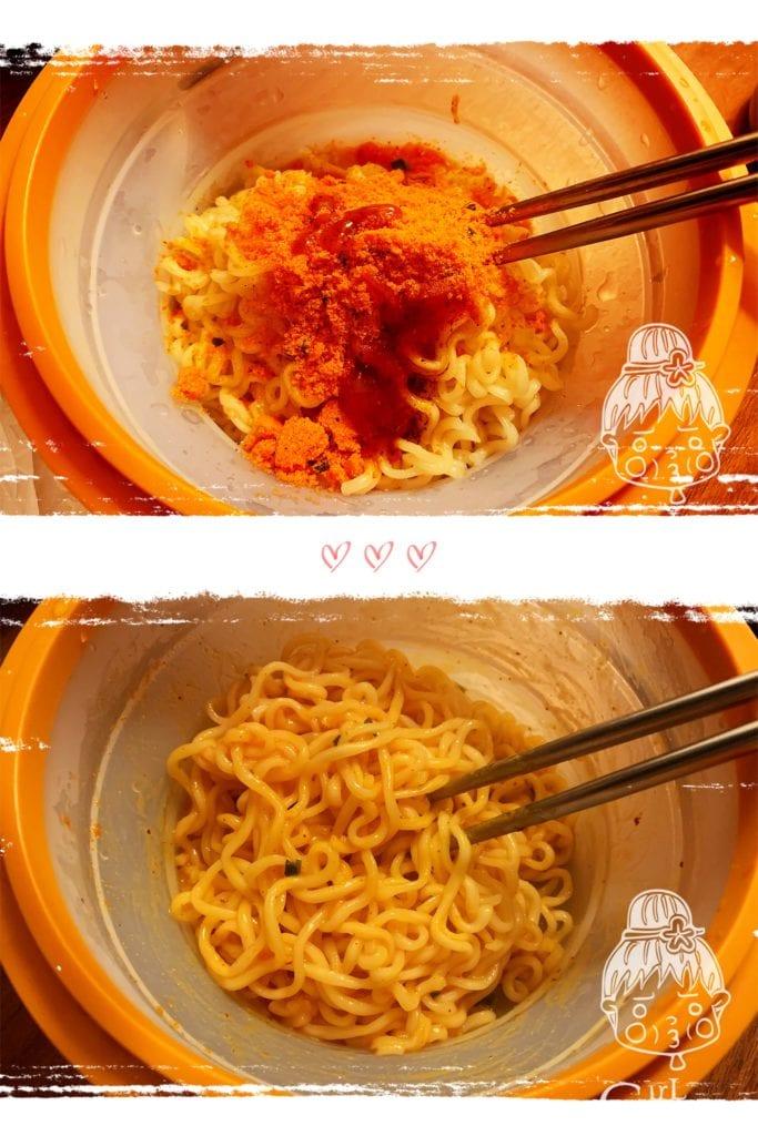曼谷鹹蛋黃泡麵
