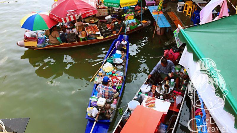 水上市場一日遊