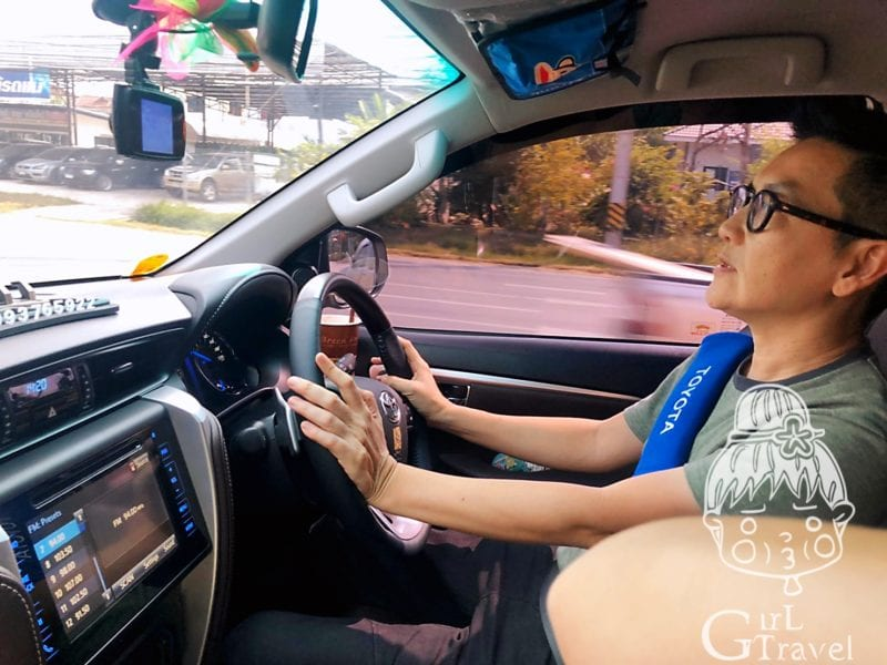 曼谷包車司機 pond chokteerasawat
