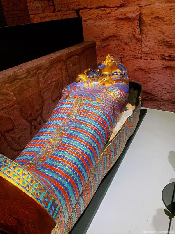 圖坦卡門法老王的黃金寶藏特展