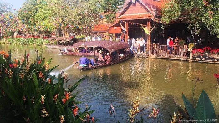 曼谷水上市場