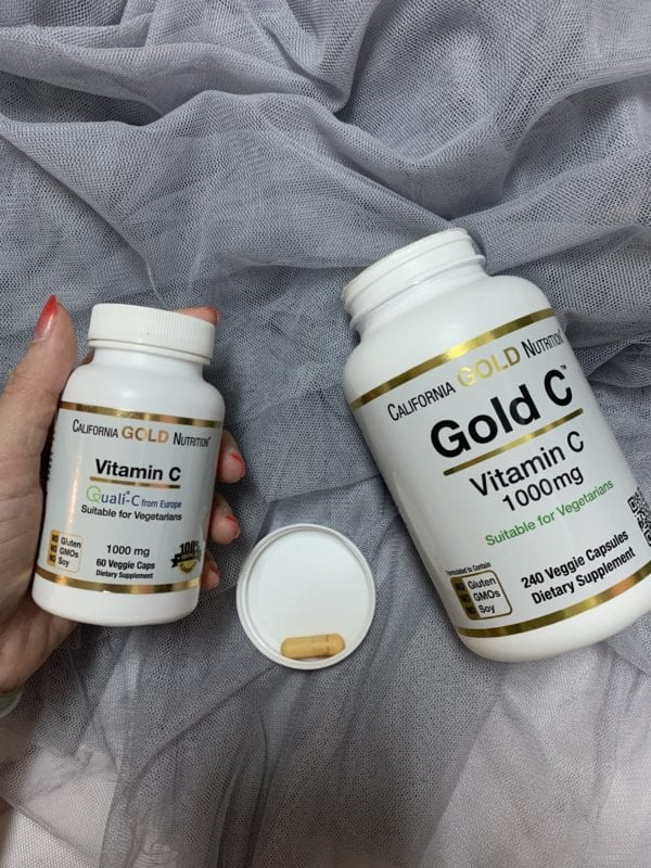 California Gold Nutrition, Gold C,維生素C