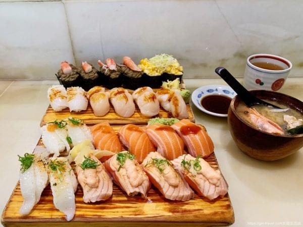 二男小家料理握壽司