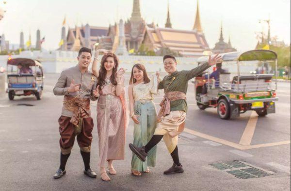 泰國傳統服飾體驗