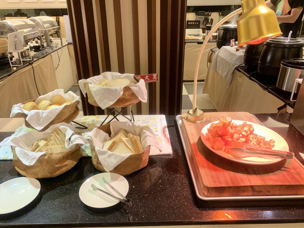 冠閣大飯店早餐