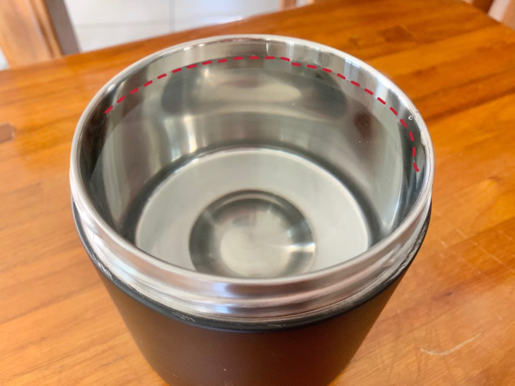 Vivo經典真空保溫罐容量測試