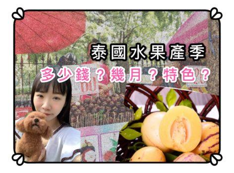 【泰國】榴槤山竹季節?必吃的10種水果產季、價錢、功效一把抓!特色生果哪裡買?