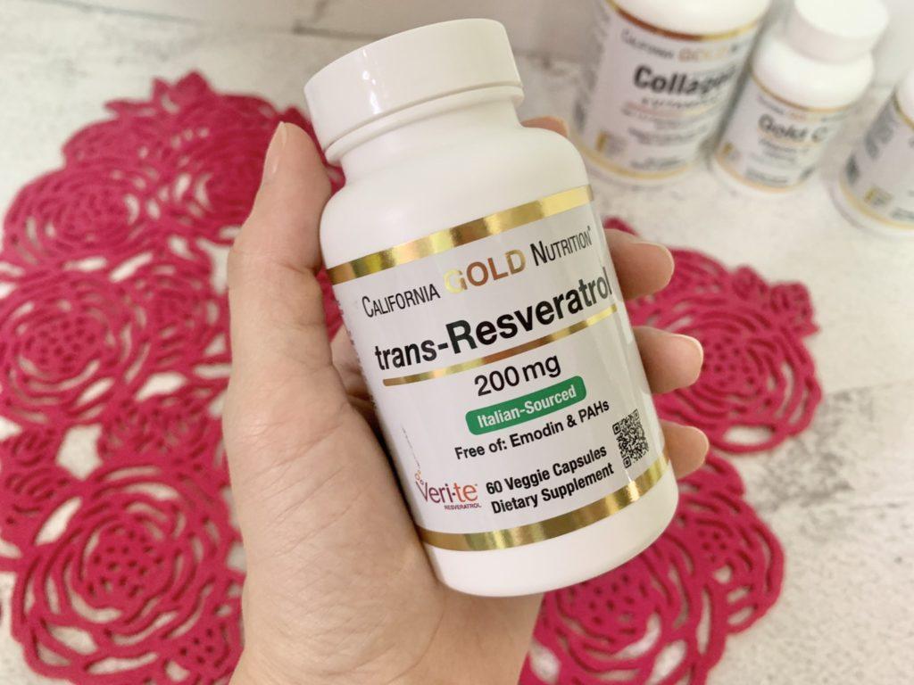 California Gold Nutrition, 反式白藜蘆醇