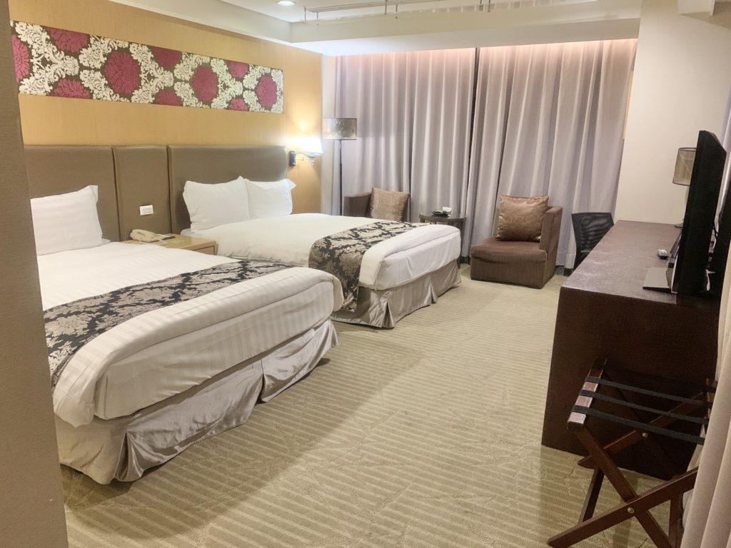 台中兆品酒店四人房
