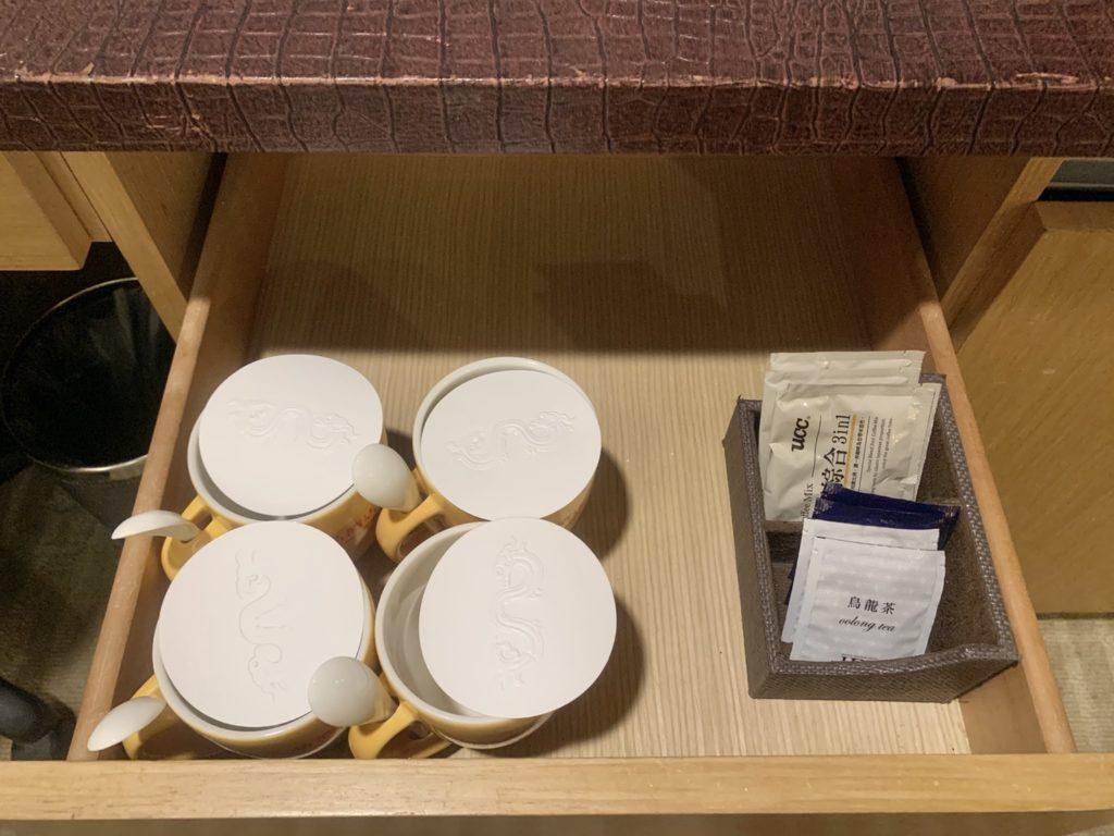 台中兆品酒店咖啡茶包