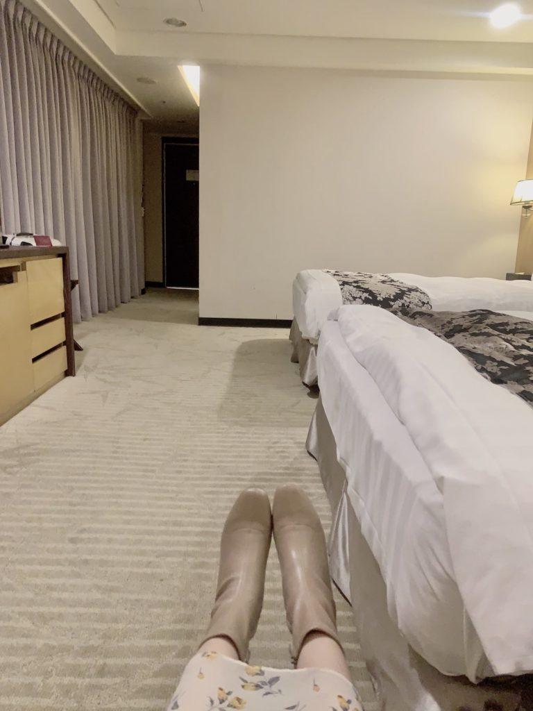 台中兆品酒店四人房空間
