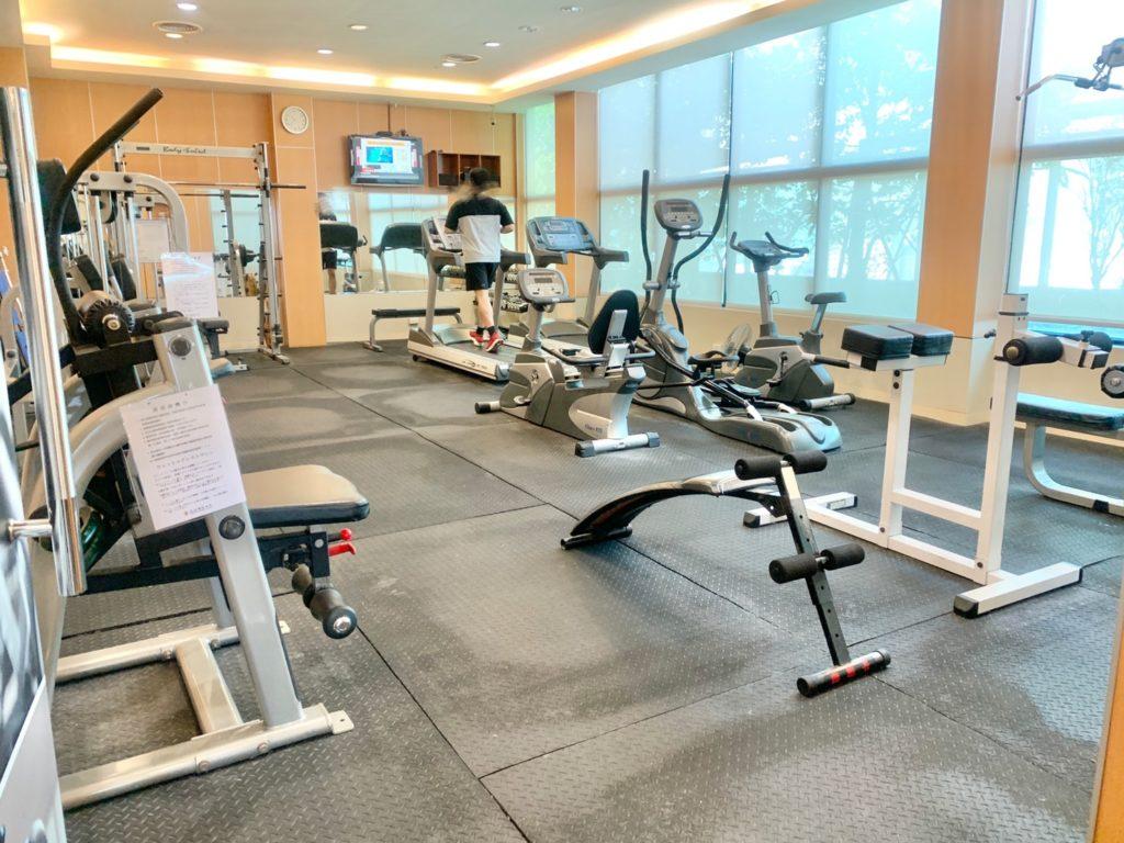 台中兆品酒店健身房