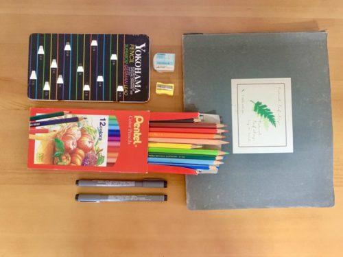 Hahow復古風味色鉛筆食譜速寫課程評價,入門畫畫課程簡單學!